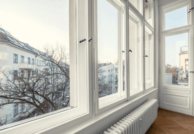 storm window from inside