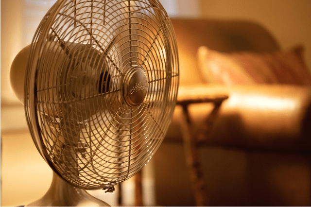 can't sleep without a fan
