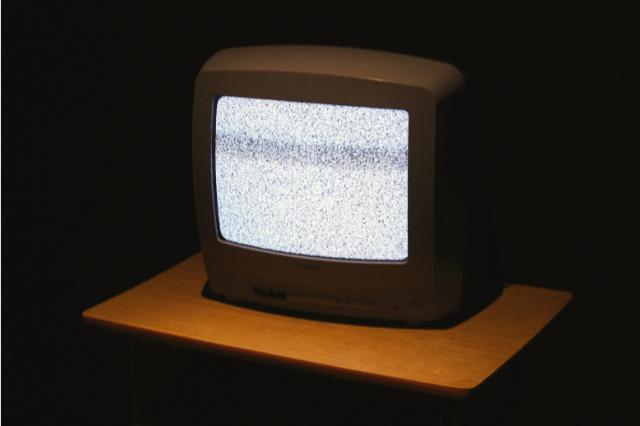 static white noise on TV