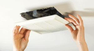 Installation of a ceiling Bathroom fan